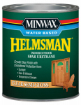 Minwax The 630510444 Helmsman 1-Quart Semi-Gloss Water-Based Spar Urethane