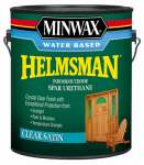 Minwax The 710520000 Helmsman Spar Urethane, Water Based, Satin, 1-Gal.