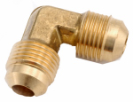 "Anderson Metals 754055-08 1/2"" Brass FL Elbow"