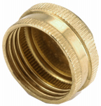 Anderson Metals 757404-12 Pipe Cap Fitting, Lead-Free Brass, 3/4-In. GHT