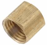 """Anderson Metals 756108-04 1/4"""" Brass Cap"""