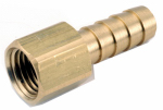 Anderson Metals 757002-0804 Pipe Fitting, Barb Insert, Lead-Free Brass, 1/2 Hose ID x 1/4-In. FPT