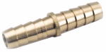 Anderson Metals 757014-04 Pipe Fitting, Barb Mender, Lead-Free Brass, 1/4-In.