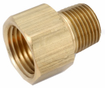 Anderson Metals 756120-0404 1/4x1/4 Brass Adapter