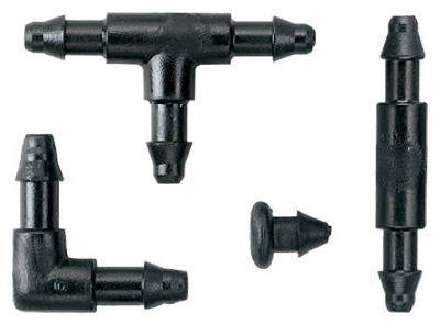 30-Pk. 1//4-In. Orbit Irrigation Products 67431 Drip Watering Barbed Connectors