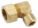 Anderson Metals 750085-1006 5/8x3/8 Brass Reduc Elbow