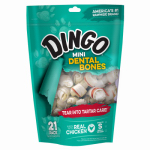 United Pet Group P-26016 Dog Dental Bone, Mini White, 21-Pk.
