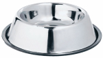 Westminster Pet Products 19032 Non-Skid Pet Bowl, Stainless Steel, 32-oz.