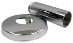 Larsen Supply 03-1659 Sterling, New Style, Chrome, Tube & Flange