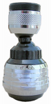 Larsen Supply Co, 09-1230 black 360 Swiv Aerator
