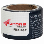 St Gobain Adfors America FDW8658-U Drywall Joint Tape, Fiberglass, White, 1-7/8-In. x 50-Ft.