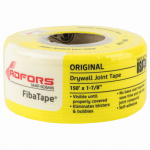 Saint Gobain Adfors FDW8659-U Drywall Joint Tape, Fiberglass, Yellow, 1-7/8-In. x 150-Ft.