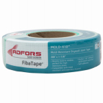 Saint Gobain Adfors FDW8664-U Drywall Tape, Mold-Resistant, Green, 1-7/8-In. x 300-Ft.
