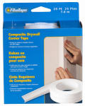 Saint Gobain Adfors FDW8444-U Composite Corner Tape, White, 2-3/8-In. x 25-Ft.