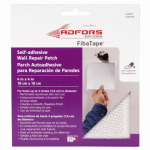 St Gobain Adfors America FDW6836-U Wall & Ceiling Repair Patch, Perforated Aluminum, 4 x 4-In.