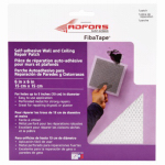 St Gobain Adfors America FDW6838-U Wall & Ceiling Repair Patch, Perforated Aluminum, 6 x 6-In.
