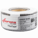 St Gobain Adfors America FDW8436-U Cement Board Tape, Gray, 2-In. x 150-Ft.