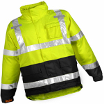 Tingley Rubber J24122.LG.01 Large Lime ANSI 107 Icon Class III Jacket