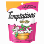 Mars Petcare Us 10084456 Temptations Cat Treat, Catnip Flavor, 3-oz.