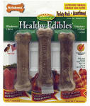Nylabone Products NE101VPP Healthy Edibles Dog Chews, Variety 3-Pk.