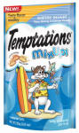 Mars Petcare Us 10084507 Temptations Mix Ups Cat Treats,  Surfer's Delight, 3-oz.