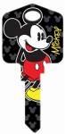 Hillman Fasteners 87625 Disney Mickey Mouse Painted Key Blank
