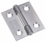 National Mfg/Spectrum Brands Hhi N348-979 1.5-In. Stainless Steel Narrow Tight Pin Light-Duty Hinge