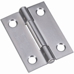 National Mfg/Spectrum Brands Hhi N348-987 2-Inch Stainless Steel Narrow Tight Pin Light-Duty Hinge