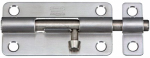 National Mfg/Spectrum Brands Hhi N348-284 Door Barrel Bolt, Stainless Steel, 4-In.