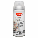 Krylon Diversified Brands 1311 Matte Finish Spray Paint, Matte Clear, 11-oz.