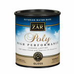 United Gilsonite Lab 32612 ZAR  Exterior Water-Based Polyurethane Gloss Quart
