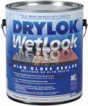 United Gilsonite Lab 28913 WetLook High Gloss Concrete Sealer, Gallon, Must Be Purchased in Quantities of 2