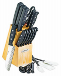Lifetime Brands FUSSH22 Cutlery Set, 22-Piece