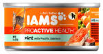 American Distribution & Mfg 04331 Cat Food, Pate With Salmon, 3-oz.