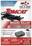 Scotts-Tomcat BL22310 Mouse Bait Station, Sealed, Disposable
