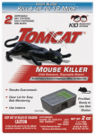 Scotts-Tomcat 0371510 Mouse Bait Station, Sealed, Disposable, 2-Pk.