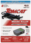 Scotts-Tomcat BL23340 Mouse Bait Station, Sealed, Disposable, 4-Pk.