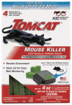 Scotts-Tomcat 0371110 Mouse Killer Station, Refillable, 4-Pk.