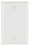 Pass & Seymour SP13WU Urea Wall Plate, Blank, White