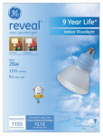 G E Lighting 62953 Reveal 26-Watt  R40 Reflector  CFL Bulb