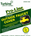 Turbine Industries 922 Outside Faucet Cover