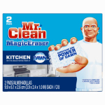 Procter & Gamble 47546 2-Pack Magic Eraser Kitchen Scrubber with Dawn