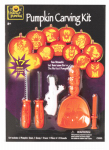 Seasons (Hk) CI220 Halloween Deluxe Pumpkin Carving Kit, 17-Pc.