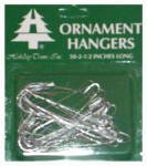 Holiday Trim 3925000 Christmas Ornament Hooks, Silver, 2-1/2-In., 50-Ct.