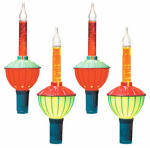 Noma/Inliten-Import V28077-88 Christmas Lights Set, Bubble, 7-Ct.