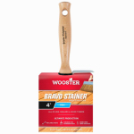 Wooster Brush F5119-4 Stain Brush, 4-Inch