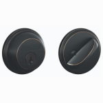Schlage Lock B60N716 Aged Bronze Single-Cylinder Deadbolt