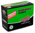 "Interstate All Battery Ctr DRY0085 Workaholic Alkaline Battery, ""D"", 12-Pk."