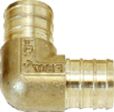 UC260LFA10 Pex Pipe Fitting, Insert Elbow, 1-In. Barb, 10-Pk