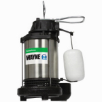 Wayne Water Systems CDU980E Submersible Sump Pump, Cast Iron/Stainless-Steel, .75-HP Motor